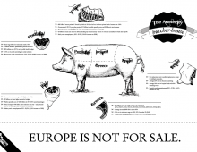"""""""Europe is not for sale!"""""""